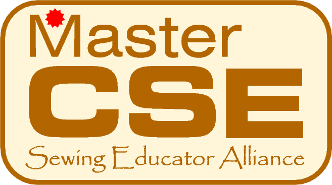 CSE Master Certified Sewing Educator emblem