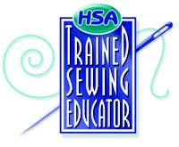 HSA Trained Sewing Educator emblem